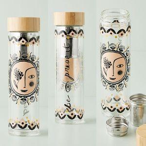 ANTHROPOLOGIE Hestia Infuser Water Bottle